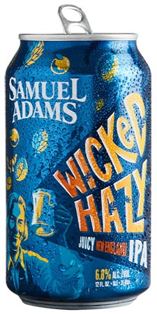 Sam Adams Wicked Double NEIPA 4 PK Cans