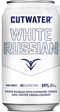Cutwater White Russian 4 PK Cans