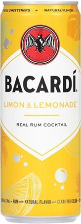 Bacardi RTD Limon & Lemonade 4 PK Cans