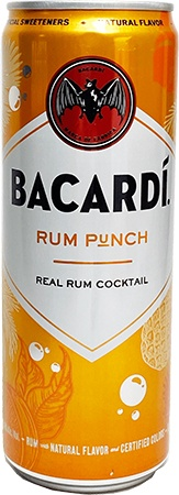 Bacardi RTD Rum Punch4 PK Cans