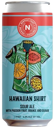 Newport Craft Hawaiian Shirt Sour Ale 4 PK Cans